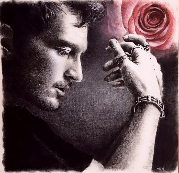 Antoine Elie - l'armure et la rose
