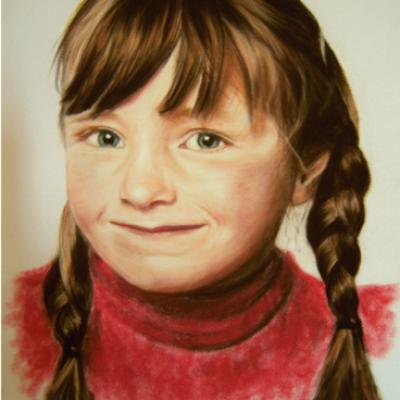 Portraits pastel sec