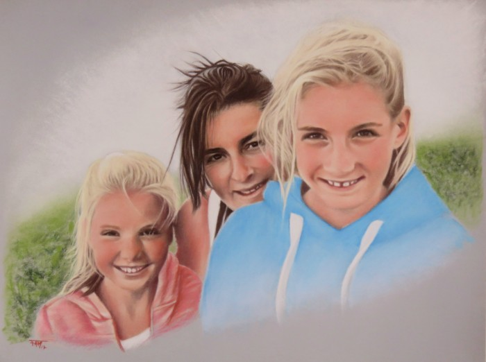 Sonia et les filles